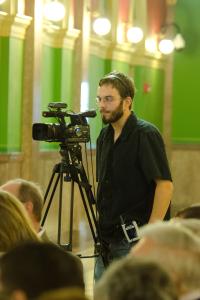 Me on the set Election Sermon 2012
